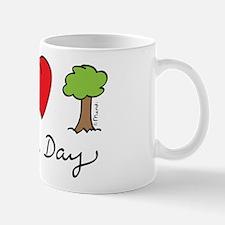 Peace, Love & Trees Mug