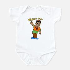 Kwanzaa Greetings Infant Creeper