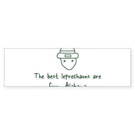 Alabama leprechauns Bumper Sticker