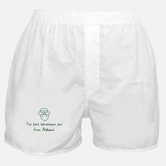 Alabama leprechauns Boxer Shorts
