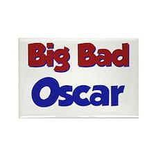 Big Bad Oscar Rectangle Magnet