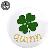 "Quinn Irish 3.5"" Button (10 pack)"