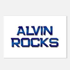 alvin rocks Postcards (Package of 8)