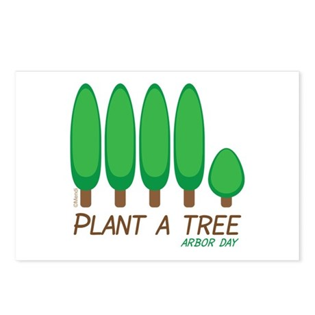 Plant A Tree - Arbor Day Postcards (Package of 8)