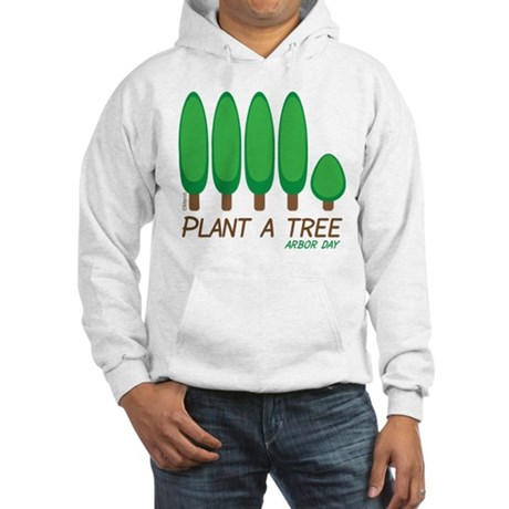 Plant A Tree - Arbor Day Hooded Sweatshirt