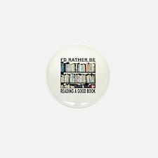 BOOK LOVER Mini Button (10 pack)