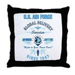 Air Force Delivery Throw Pillow