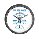 Air Force Delivery Wall Clock