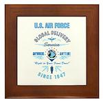 Air Force Delivery Framed Tile