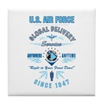 Air Force Delivery Tile Coaster