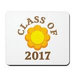Sunflower Class Of 2017 Mousepad