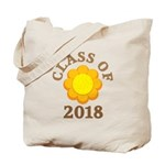 Sunflower Class Of 2018 Tote Bag