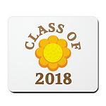 Sunflower Class Of 2018 Mousepad