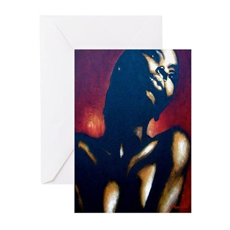 Golden Lady Greeting Cards (Pk of 10)