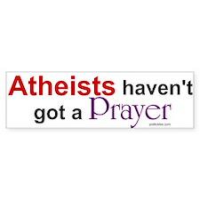 Atheists Bumper Bumper Sticker