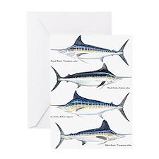 4 Marlin Greeting Card