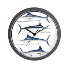 4 Marlin Wall Clock