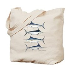 4 Marlin Tote Bag