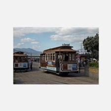 San Francisco trolley Rectangle Magnet