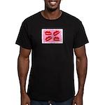 MANY LIPS Men's Fitted T-Shirt (dark)