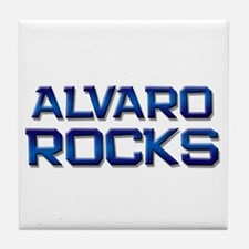 alvaro rocks Tile Coaster