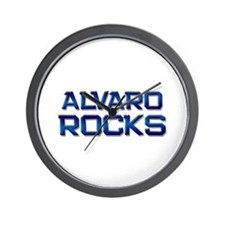 alvaro rocks Wall Clock