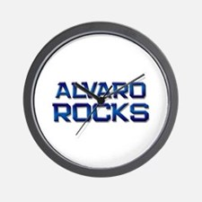 alvaro rocks Wall Clock
