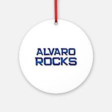 alvaro rocks Ornament (Round)