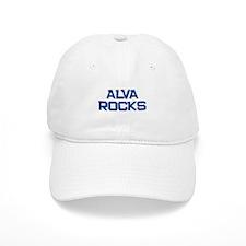 alva rocks Baseball Baseball Cap