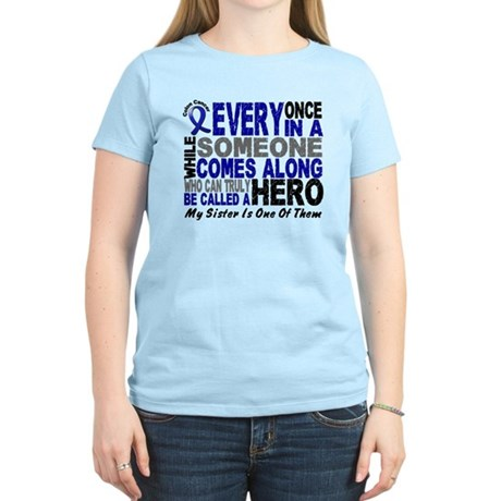 HERO Comes Along 1 Sister CC Women's Light T-Shirt