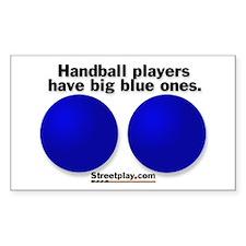 Big Blue Decal