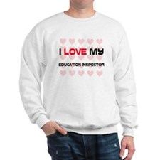 I Love My Education Inspector Jumper