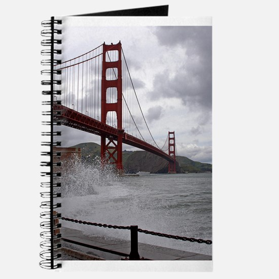 foggy golden gate Journal