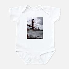 foggy golden gate Infant Bodysuit