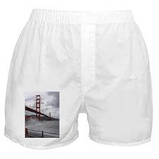 foggy golden gate Boxer Shorts