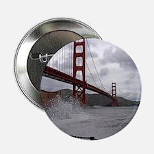 "foggy golden gate 2.25"" Button"