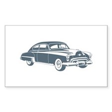 1949 Oldsmobile Rocket 88 Rectangle Sticker 10 pk