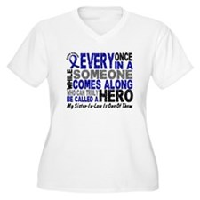 HERO Comes Along 1 Sister-In-Law CC T-Shirt