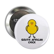 "South African Chick 2.25"" Button"