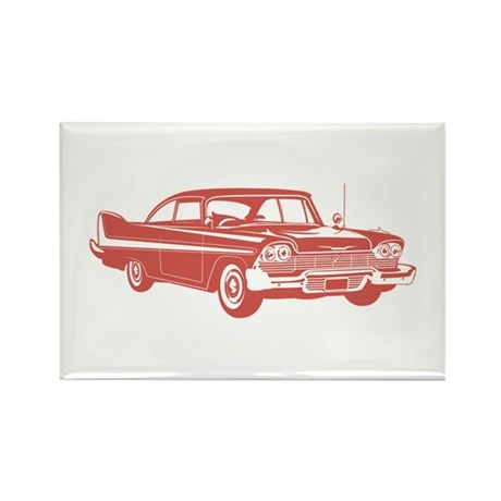1958 Plymouth Fury Rectangle Magnet (10 pack)