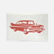 1958 Plymouth Fury Rectangle Magnet