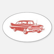 1958 Plymouth Fury Oval Decal