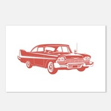 1958 Plymouth Fury Postcards (Package of 8)