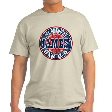 James' All American BBQ Light T-Shirt