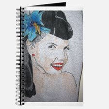Brunette pinup Journal