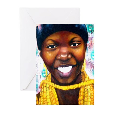Untitled 1 Greeting Cards (Pk of 10)