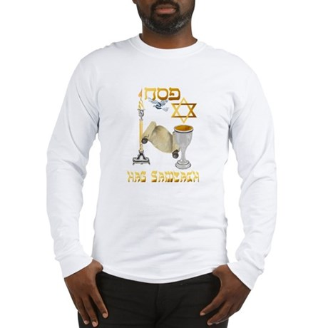 Happy Passover Long Sleeve T-Shirt