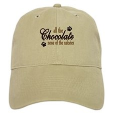 All the Chocolate Baseball Baseball Cap
