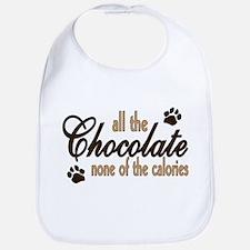 All the Chocolate Bib