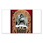 The Tattooed Lady Vintage Advertising Print Sticke